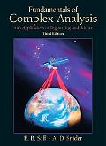 Fundamentals of Complex Analysis With Applications to Engineering and Science