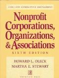 NonProfit Corporations, Organizations, and Associations, 1997-1998 Supplement - Howard L. Ol...