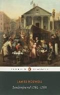 London Journal 1762-1763 (Penguin Classics)