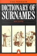 Penguin Dictionary of Surnames