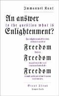 Answer to the Question: 'What Is Enlightenment?' : 'What Is Enlightenment?'
