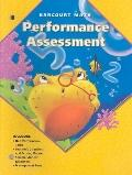 Harcourt Math: Performance Assessment: National and CA Edition