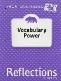 California Reflections: Vocabulary Power, Grade 1: A Child's View