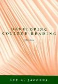 Developing College Reading