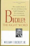 Buckley The Right Word