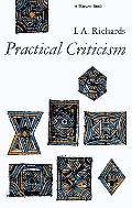 Practical Criticism A Study of Literary Judgement