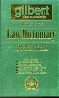 Gilbert Law Summaries Pocket Size Law Dictionary Contains over 4,000 Legal Terms & Phrases