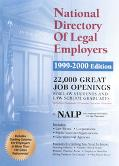 National Directory of Legal Employers, 1999-2000