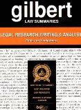 Gilbert Law Summaries Legal Research, Writing & Analysis