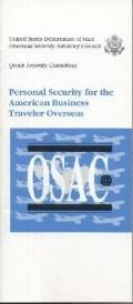 Personal Security for the American Business Traveler Overseas