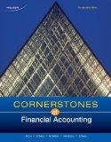 Cornerstones of Financial Accounting, First Canadian Edition