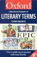 Concise Oxford Dictionary of Literary Terms