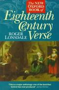 New Oxford Book of Eighteenth Century Verse