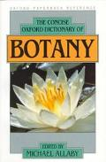 Concise Oxford Dictionary of Botany - Michael Allaby - Paperback