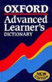 Oxford Advanced Learner's Dictionary of Current English Hb