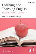 Learning And Teaching English A Course for Teachers