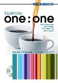 Business one: one Intermediate: Intermediate Student's Book Pack