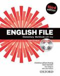 English File: Elementary: Workbook with Key and iChecker (French Edition)