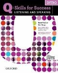 Q Listening & Speaking Intro Student Book Pk