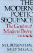 Modern Poetic Sequence: The Genius of Modern Poetry - Macha L. Rosenthal - Hardcover