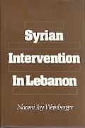 Syrian Intervention in Lebanon The 1975-76 Civil War