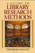 Guide to Library Research Methods