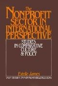 Nonprofit Sector in International Perspective Studies in Comparative Culture and Policy