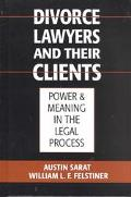 Divorce Lawyers and Their Clients Power and Meaning in the Legal Process