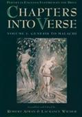 Chapters into Verse Poetry in English Inspired by the Bible  Genesis to Malachi