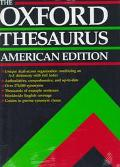 The Oxford Thesaurus: American Edition - Laurence Urdang - Hardcover - American ed