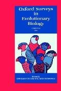Oxford Surveys in Evolutionary Biology