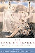 English Reader What Every Literate Person Needs to Know