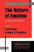 Nature of Emotion Fundamental Questions