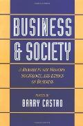 Business and Society A Reader in the History, Sociology, and Ethics of Business