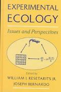 Experimental Ecology Issues and Perspectives