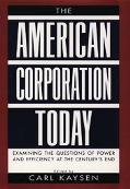 American Corporation Today