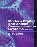 Modern Digital and Analog Communications Systems