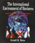 International Environment of Business Competition and Governance in the Global Economy