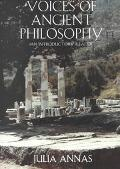 Voices of Ancient Philosophy An Introductory Reader