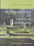Voice of Reason Fundamentals of Critical Thinking