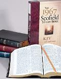 1967 Scofield Study Bible With Word Changes King James Version, Black Genuine Leather