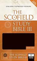 Scofield Study Bible III English Standard Version, Black Bonded Leather