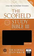 Scofield Study Bible III English Standard Version, Black Genuine Leather