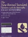 NRSV Pocket Bible with Apocrypha, Anglicized Edition: New Revised Standard Version, black bo...