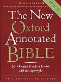 New Oxford Annotated Bible With the Apocrypha/Deuterocanonical Books/New Revised Standard Ve...