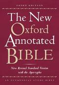 New Oxford Annotated Bible With the Apocrypha New Revised Standard Version Genuine Leather B...