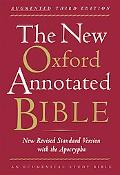 The New Oxford Annotated Bible with the Apocrypha, Augmented Third Edition, New Revised Stan...