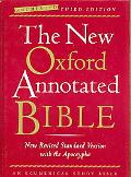 New Oxford Annotated Bible With the Apocrypha New Revised Standard Version, Augmented