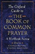 Oxford Guide to the Book of Common Prayer
