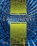 An Introduction to Game Theory, International Edition